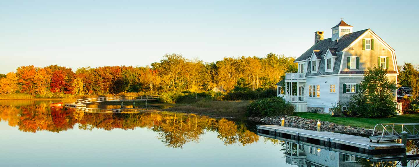 House on a lake - parade of homes