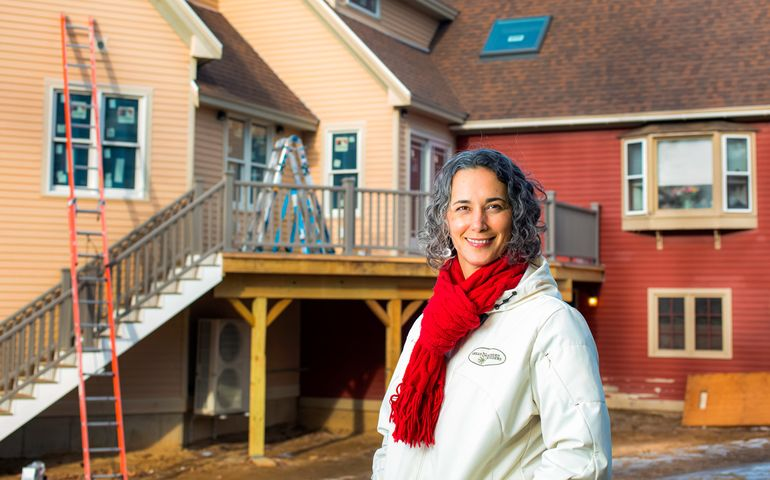 Maya Bogh, president of the home builders and remodelers association of Maine.