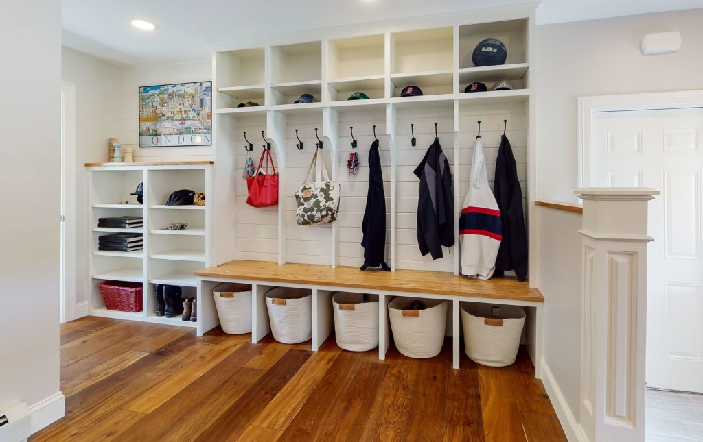 Mudroom from Southern Maine Remodeling